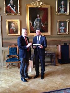 Anders Malmberg and Igor Corman.