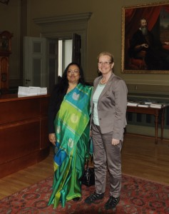 Banashri Bose Harrison and Eva Åkesson.