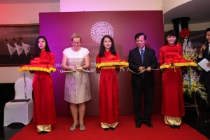 The official opening in Hanoi.